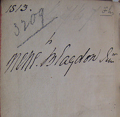 Unidentified Magna Carta in F Inscription
