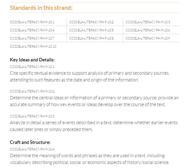 CCSS Standards Blog Post 2