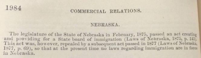 Nebraska Immigration Laws SM