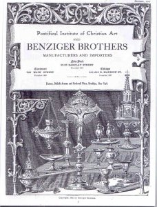 "A typical work published by Benziger in 1910, though the name ""Benziger Brothers"" suggests the company was then named after Nicholas and Charles (Image: PaxHouse)"
