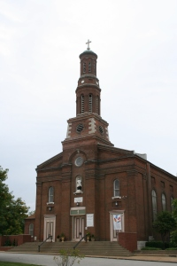 The Parish Church of St. Vincent, completed in 1845 (Image: City of St. Louis)