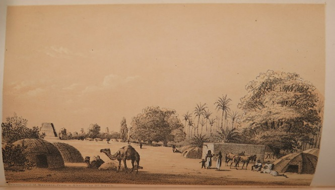 A plate from volume 5 of Heinrich Barth's Travels and discoveries in North and Central Africa (London, 1857-58)