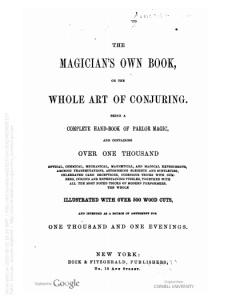"In the c.1878 catalog, the two editions of the Index were shelved with other ""miscellaneous"" titles like The Magician's Own Book (1857). Image from Hathitrust."