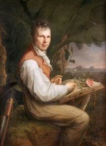 Alexander von Humboldt was one of the 19th century's most popular travel writers. Source: Wikimedia.